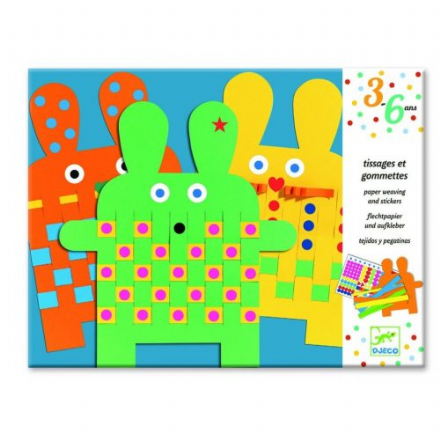 Djeco 6 bunnies - Art Set